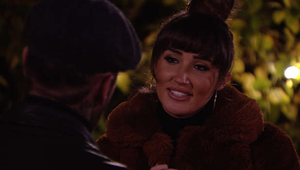 TOWIE's Megan gives Pete a birthday present and kisses him Bonfire Night 6 November 2016