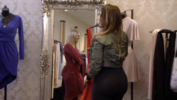 TOWIE: Lauren Goodger tells Danielle her bum is massive 2 November 2016