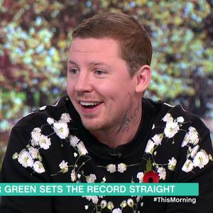 Professor Green, This Morning, ITV 7 November