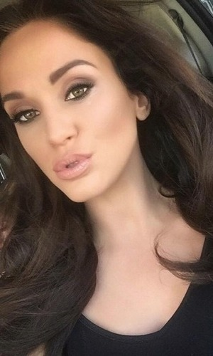 Vicky Pattison selfie on Instagram 9 November