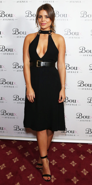 Chloe Lewis, Boux Avenue launch, London 9 November
