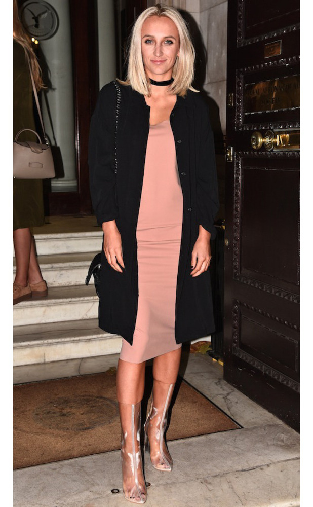 Made In Chelsea star Tiffany Watson at the Boux Avenue party, London, 9 November 2016
