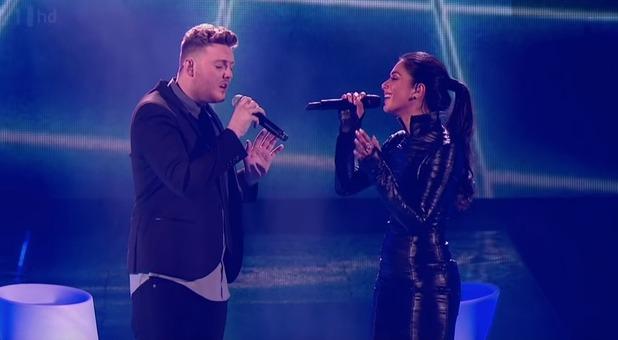 James Arthur and Nicole Scherzinger perform on The X Factor 2012