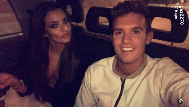 Emma McVey and Gaz Beadle, Snapchat November 2016