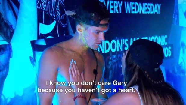 Gaz Beadle and Sophie Kasaei fallout, Geordie Shore 10 November