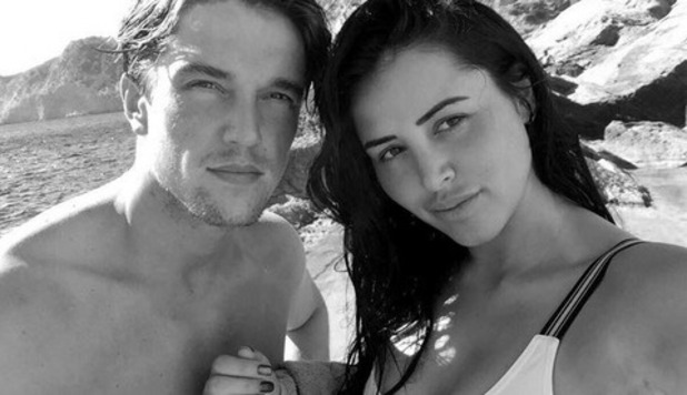 Lewis Bloor and Marnie Simpson on holiday in Ibiza, Instagram October 2016