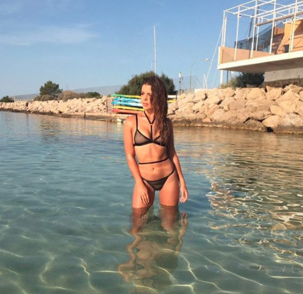TOWIE star Chloe Lewis shares throwback bikini picture, 9 November 2016