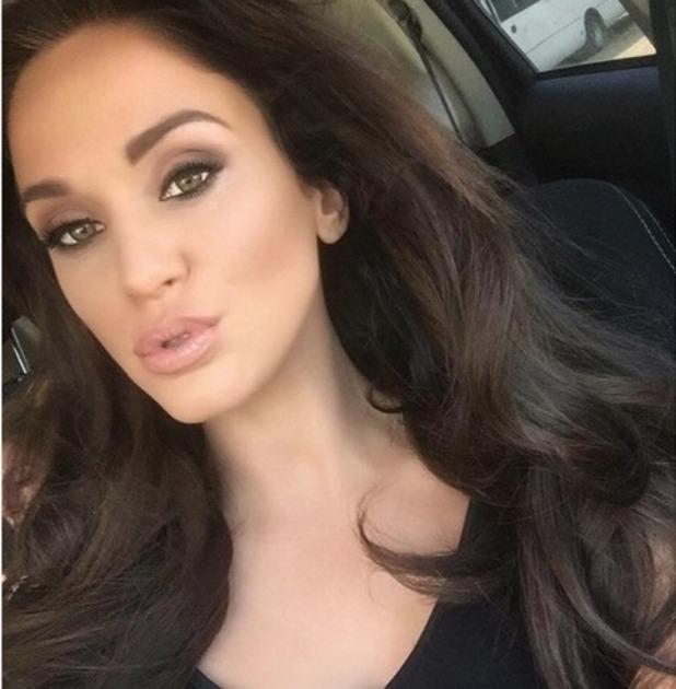 Vicky Pattison selfie on Instagram 9 November