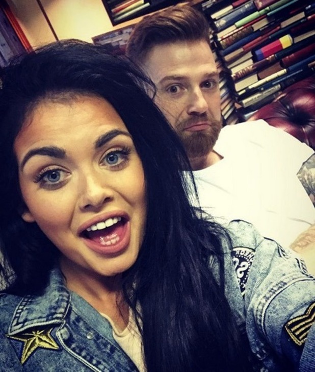 Scarlett Moffatt and boyfriend Luke Crodden, Instagram November 2016