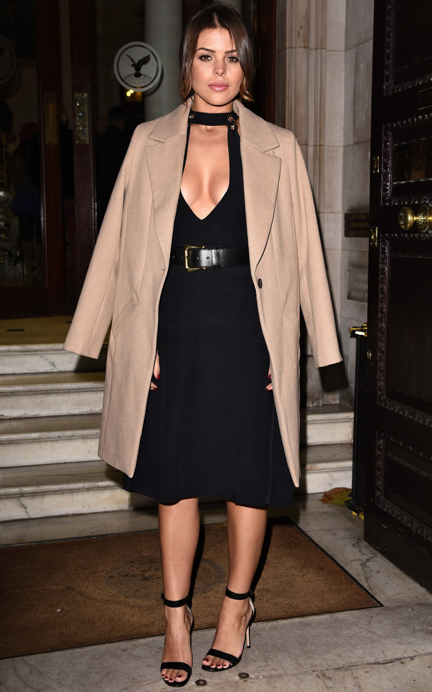 TOWIE star Chloe Lewis at Boux Avenue party, London, 9 November 2016