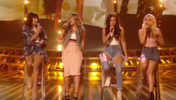 Four of Diamonds eliminated from X Factor 6 November 2016