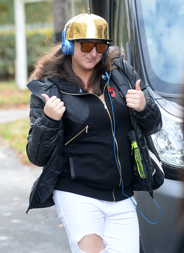 Honey G heading to X Factor rehearsals 2016