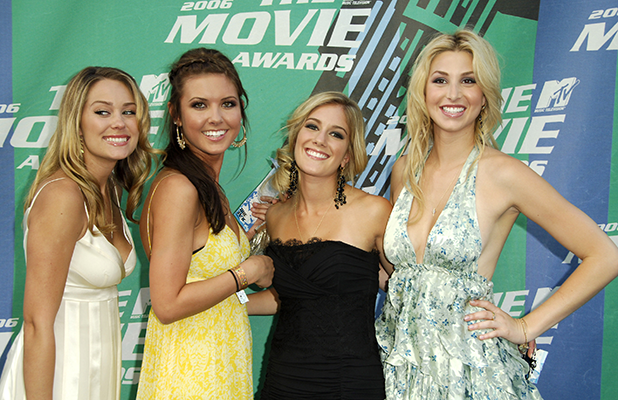 Lauren Conrad, Audrina Patridge, Heidi Montag and Whitney Port of 'The Hills' (Photo by SGranitz/WireImage)