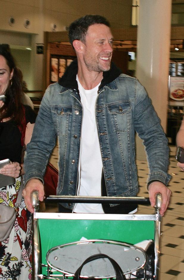 I'm A Celebrity Get Me Out Of Here stars arrive at Brisbane airport in Australia Wayne Bridge