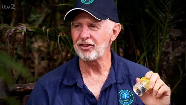 Bob McCarron the medic, I'm A Celebrity: Extra Camp 14 November