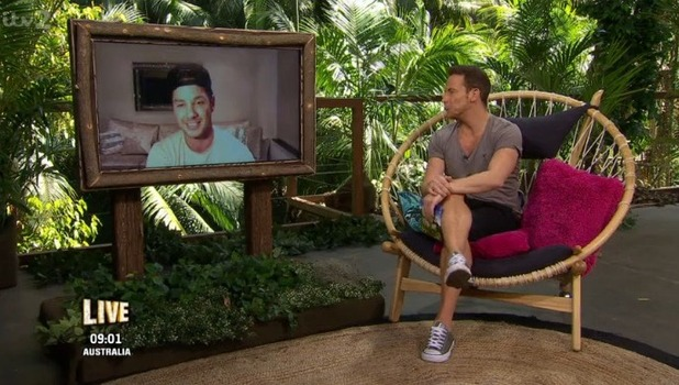 Scott Thomas on I'm A Celebrity: Extra Camp 17 November