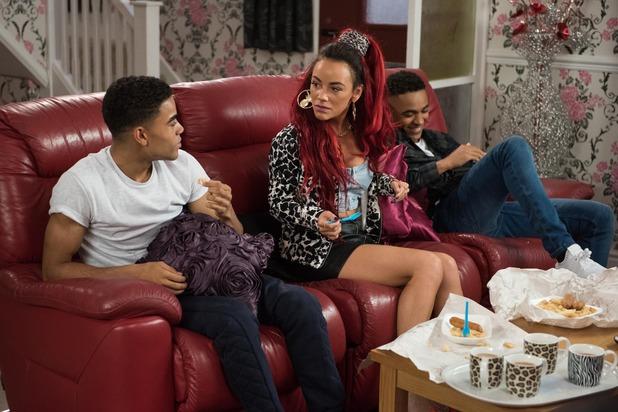 Hollyoaks, Goldie, Prince and Hunter, Fri 18 Nov
