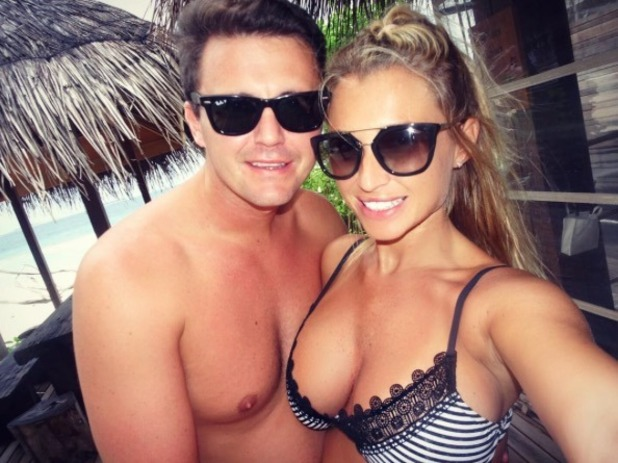 Billie Faiers shares pictures of her Maldives holiday with Greg Shepherd and Nelly - 17 Nov 2016