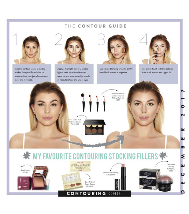 Olivia Contour Page, The Beauty Bible Calendar, 18 November 2016