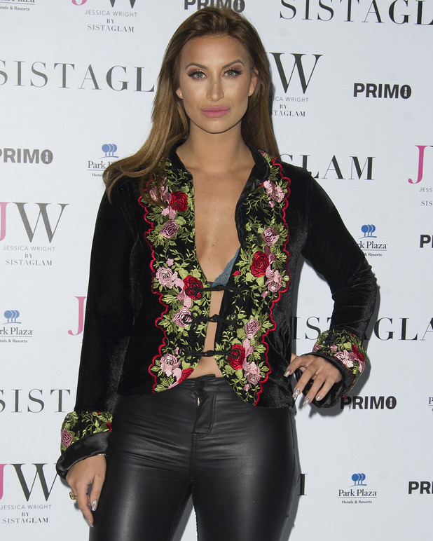 Ferne McCann attends Sistaglam launch party 26 October