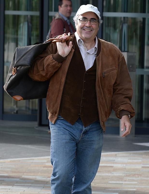 Celebrities leave the BBC Breakfast Studios at Media City, Manchester, Danny Baker
