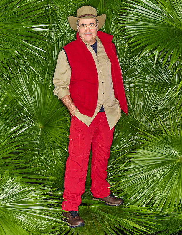 I'm a Celebrity 2016: Danny Baker and Martin Roberts entering the Jungle