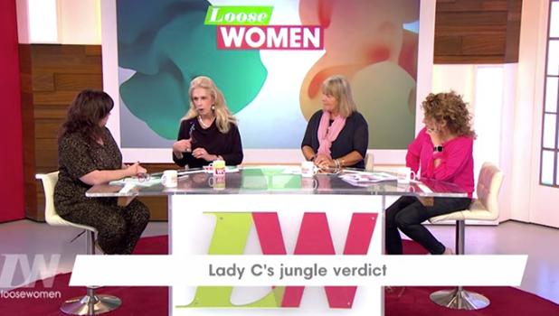 Lady C on Loose Women 2016