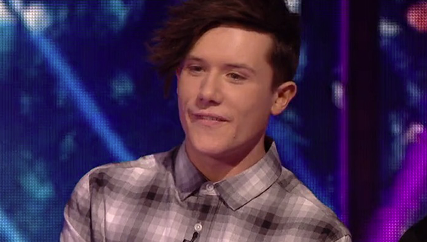 X Factor: Ryan Lawrie on Xtra Factor 13 November 2016