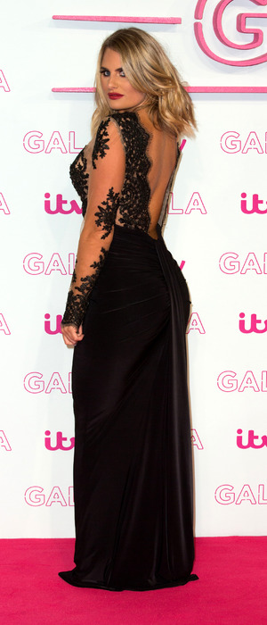 Danielle Armstrong at the ITV Gala in London, 24 November 2016