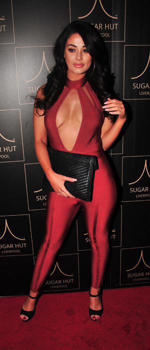 Jessica Hayes at Sugar Hut launch party, Liverpool, 23 November 2016