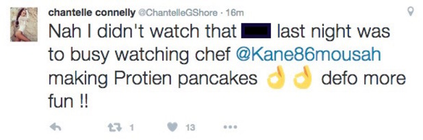 Chantelle Connelly tweets about Geordie Shore exit 23 November