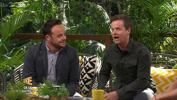 Ant and Dec, I'm A Celebrity: Extra Camp, ITV 22 November