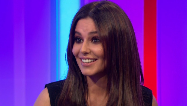 Cheryl on The One Show, BBC 2 November