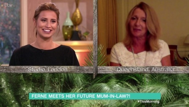Ferne McCann and Joel Dommett's mum Penny, This Morning, ITV 24 November