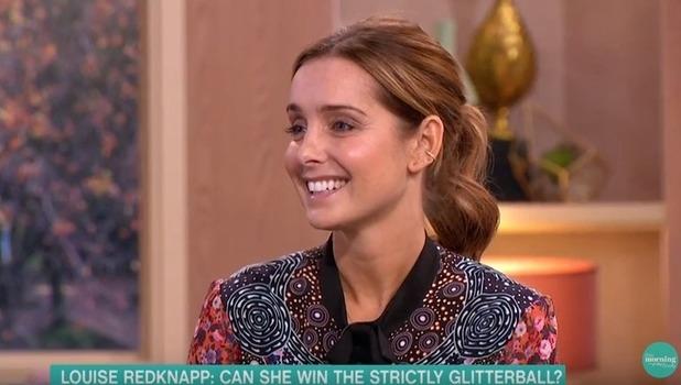 Louise Redknapp, This Morning, ITV 22 November