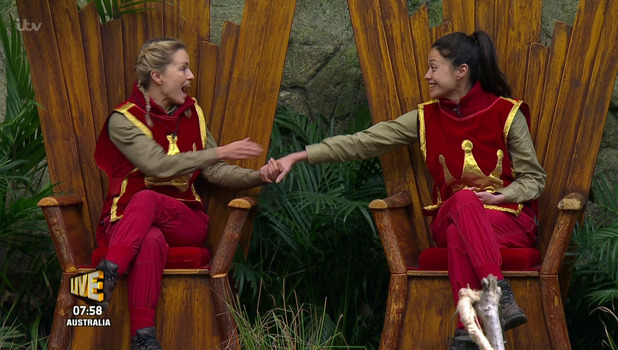 Sam Quek and Ola Jordan, I'm A Celebrity 25 November