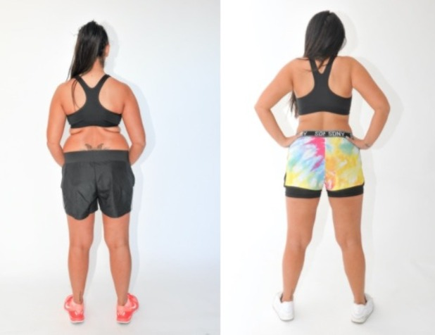 Sophie Kasaei body transformation at No 1 Boot Camp 21 November