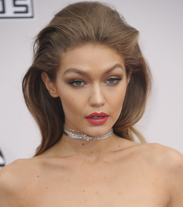 Gigi Hadid at the American Music Awards, Los Angeles, 21 November 2016