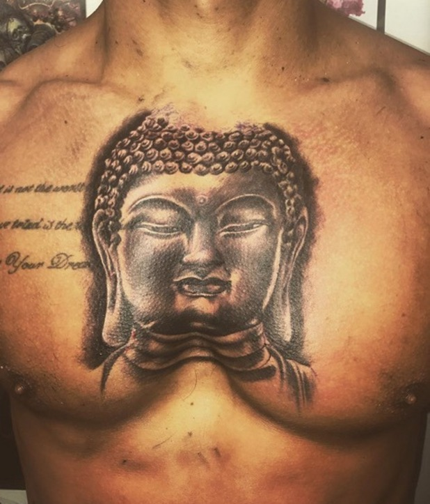 Alex Bowen gets new tattoo on his chest, Instagram 21 November