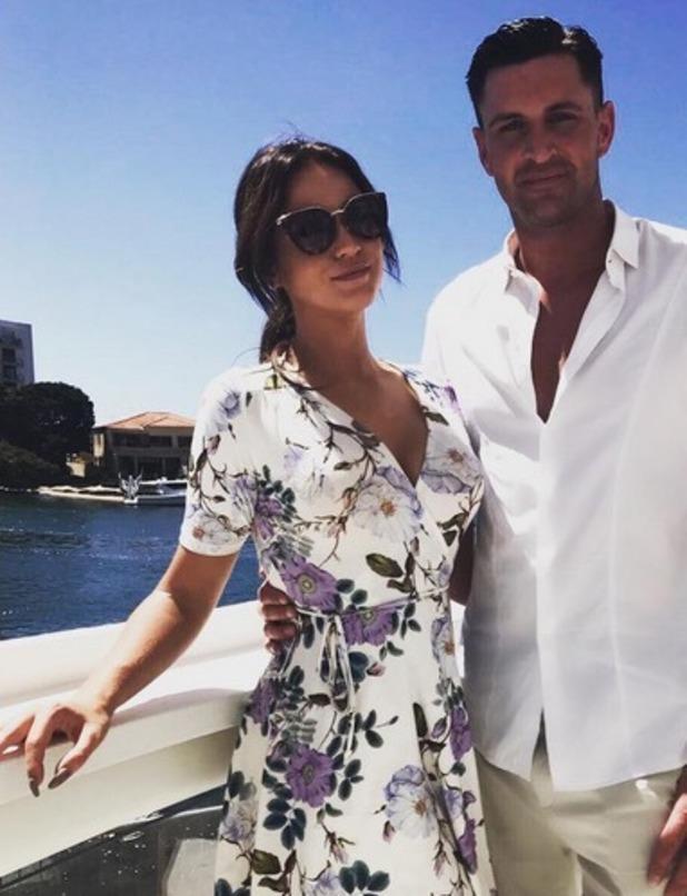 Vicky Pattison and boyfriend John Noble, Instagram 22 November