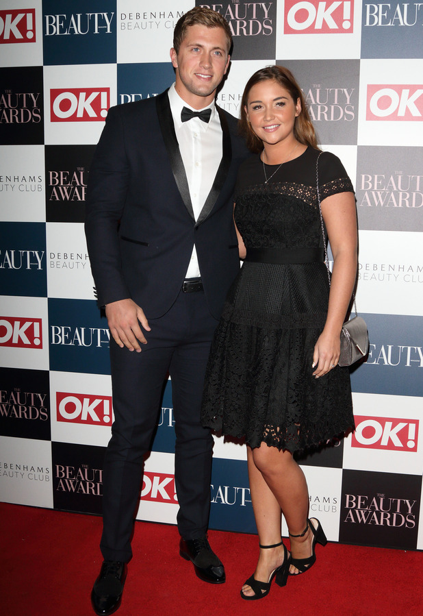 The Beauty Awards with OK! and Debenhams Beauty Club at Banqueting House, Whitehall, London Jacqueline Jossa and Dan Osborne