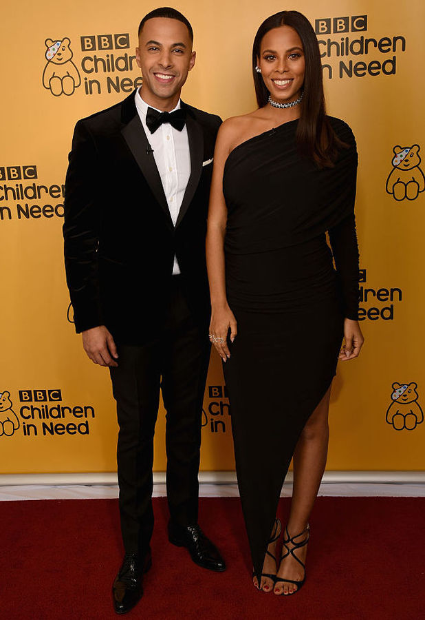 Marvin Humes and Rochelle Humes, Children in Need, BBC 18 November