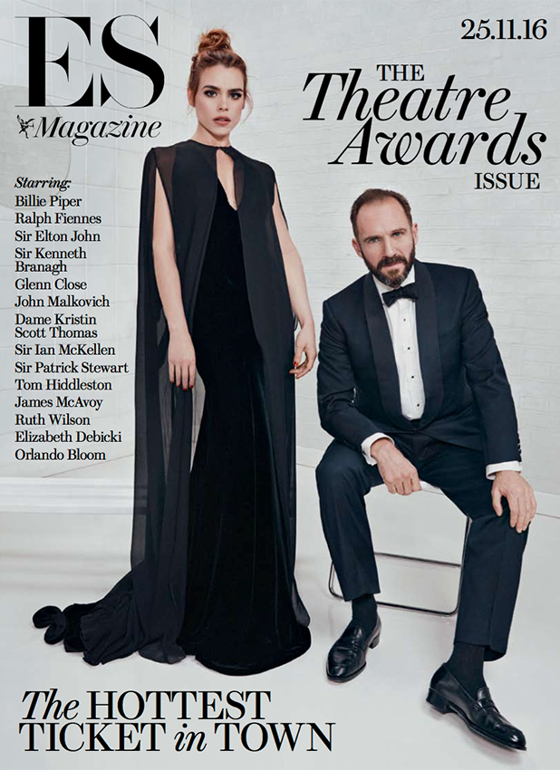 Evening Standard Magazine, Awards Special. Billie Piper