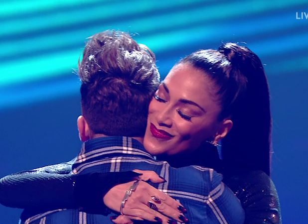 Matt Terry is saved from the public vote on 'The X Factor: Results'. Broadcast on ITV1HD