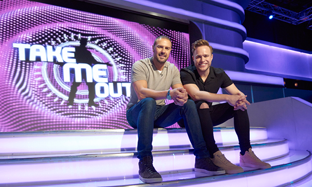 Paddy McGuinness and Olly Murs on Take Me Out 2016