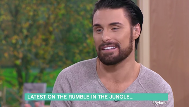Rylan Clark-Neal on This Morning, 2016