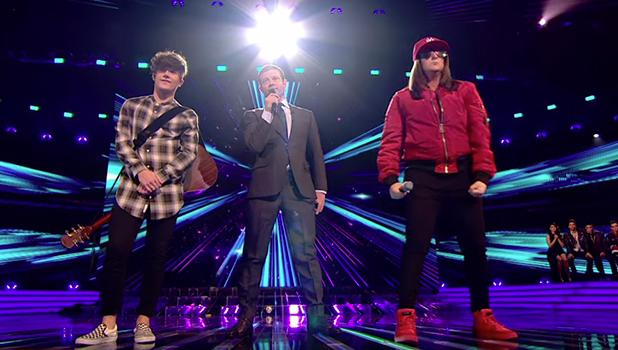 X Factor: Honey G versus Ryan Lawrie 2016