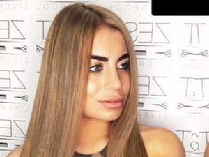 Love Island star Katie Salmon looks beautiful as she shows off her much lighter hair
