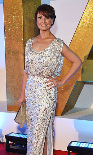 Emma Barton attends the 21st National Television Awards at The O2 Arena January 20, 2016