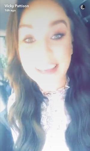 Vicky Pattison, Snapchat 1 December